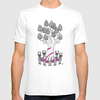 Tree Friends, Pt.3 Mens Fitted Tee White SMALL