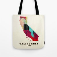 California State Map Mod… Tote Bag