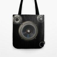 Speakers Tote Bag