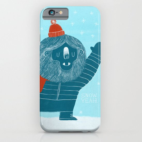 Snow Yeah iPhone & iPod Case