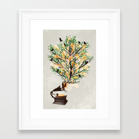 Sound of Nature Framed Art Print