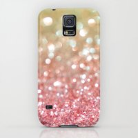 Galaxy S5 Cases featuring Champagne Tango by Lisa Argyropoulos