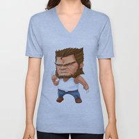 Mini Wolverine Unisex V-Neck