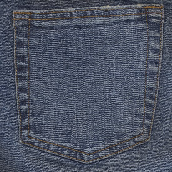 Denim Pocket Art Print