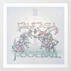 Fantasy Football Art Print