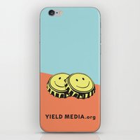 Two Happy Beers iPhone & iPod Skin
