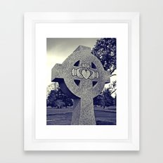 Northwest Claddagh Framed Art Print