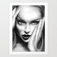 + MEAN GIRL + Art Print