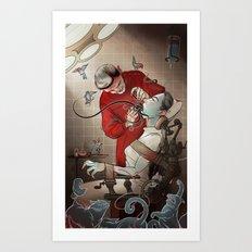 The Dentist Art Print