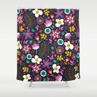 Sweet Viola Shower Curtain