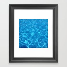 Waves Gently Splashing O… Framed Art Print
