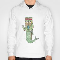 Portrait of a two headed merman Hoody