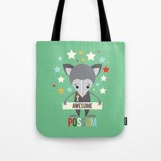Awesome Possum Tote Bag