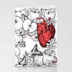 coronary apples Stationery Cards