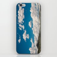 Puffy White Clouds With … iPhone & iPod Skin