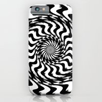 iPhone & iPod Case featuring Black and White 4 by Alice Gosling