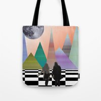 Into Many A Green Valley Tote Bag