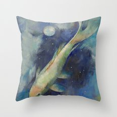Beneath the Moon and Stars Throw Pillow