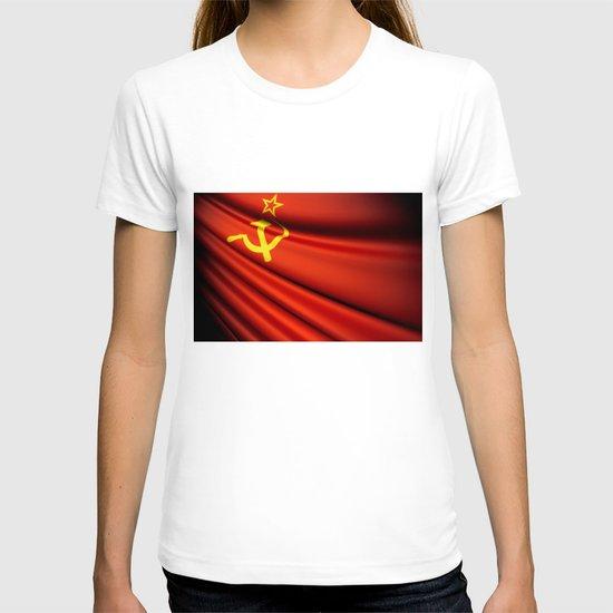 Flag of Soviet Union (1922-1991) T-shirt
