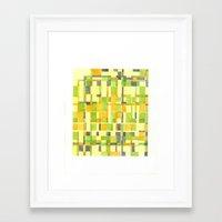 color field_01 Framed Art Print