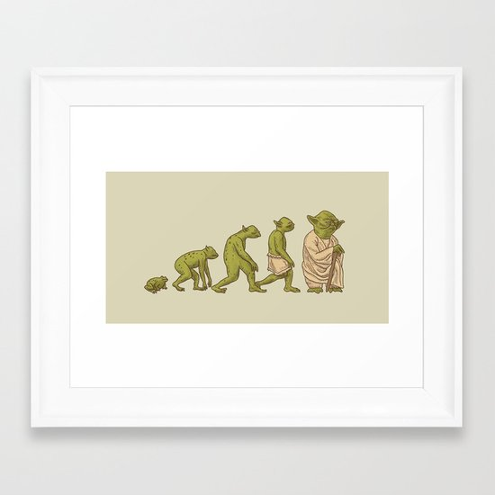 Yodalution  Framed Art Print