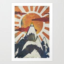 Art Print - Mount Spitfire - Kardiak