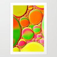 A Splash Of Colour Art Print