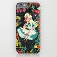 Alice in Wonderland iPhone & iPod Case
