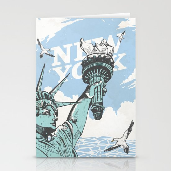New York Stationery Card