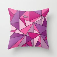 Pinkup Throw Pillow