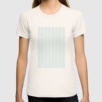 Stamb Chevron Womens Fitted Tee Natural SMALL