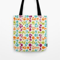 Abstract Pattern Tote Bag
