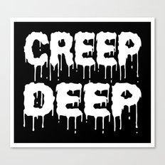 creep Canvas Print