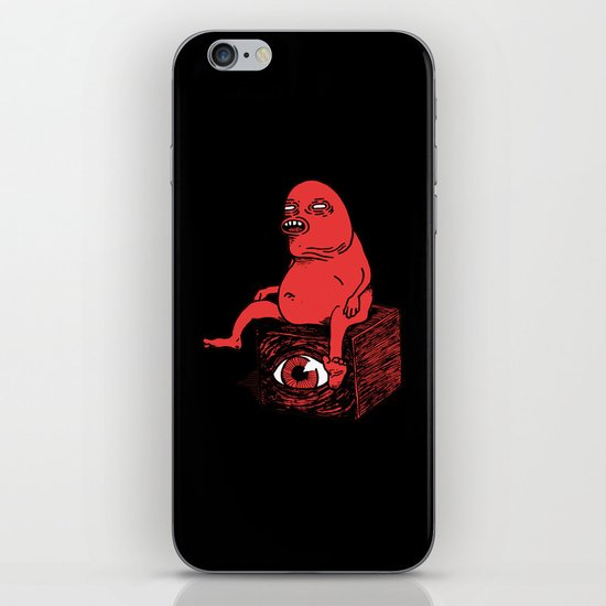 Riddle Me This iPhone & iPod Skin