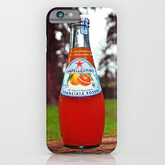 Delicious San Pellegrino iPhone & iPod Case