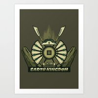 Avatar Nations Series - Earth Kingdom Art Print