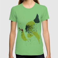 Animal Womens Fitted Tee Grass SMALL