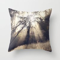 Collapse The Light Into … Throw Pillow