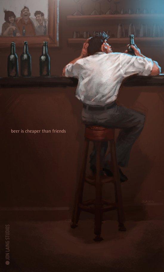 Beer… Canvas Print