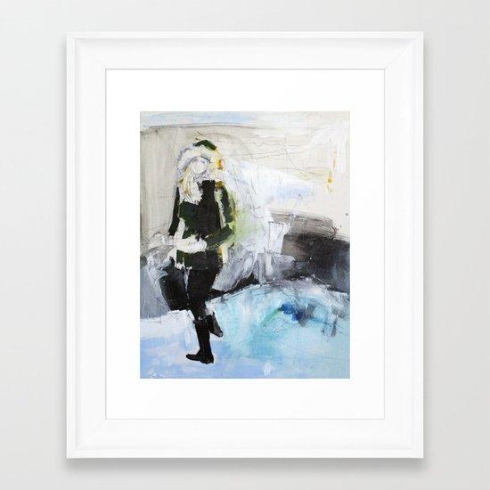 Cogs Framed Art Print