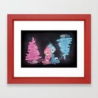 Intercosmic Christmas Framed Art Print