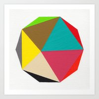 Decagon Art Print