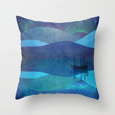 The North Pole Throw Pillow