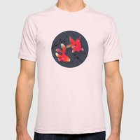 Like a fish in the sea Mens Fitted Tee Light Pink SMALL