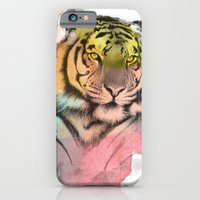 tiger iPhone & iPod Cases featuring tiger by mark ashkenazi