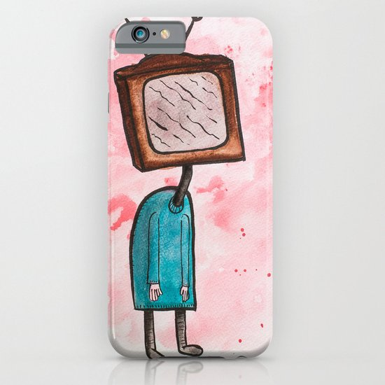 TV Head iPhone & iPod Case