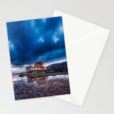 Dark Skies at Eilean Donan Castle Stationery Cards