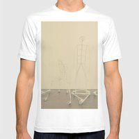 Factory head Mens Fitted Tee White SMALL