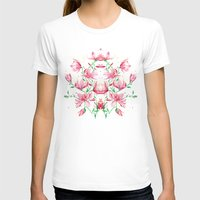 magnolia Womens Fitted Tee White SMALL