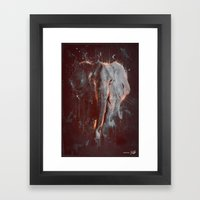 DARK ELEPHANT Framed Art Print